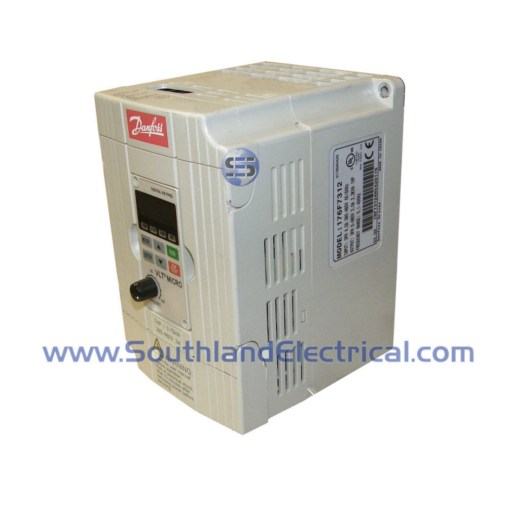 176F7312 Danfoss Drives and Soft Starts