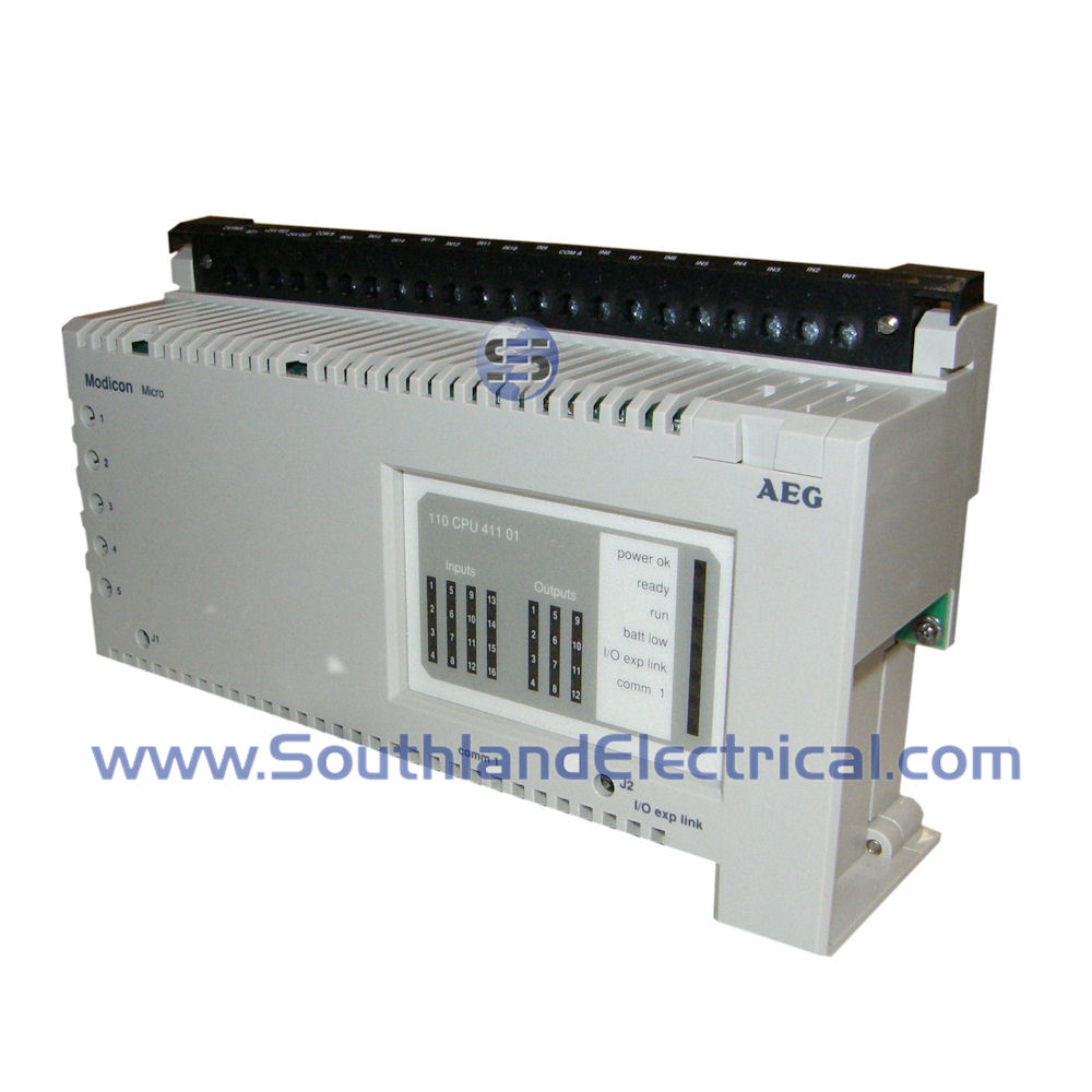 110-CPU-411-01 Modicon Programmable Logic Controls