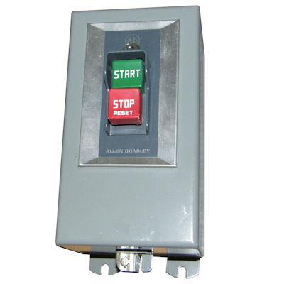 Buy 609bjb allen bradley low voltage starters contactors for Allen bradley manual motor starter